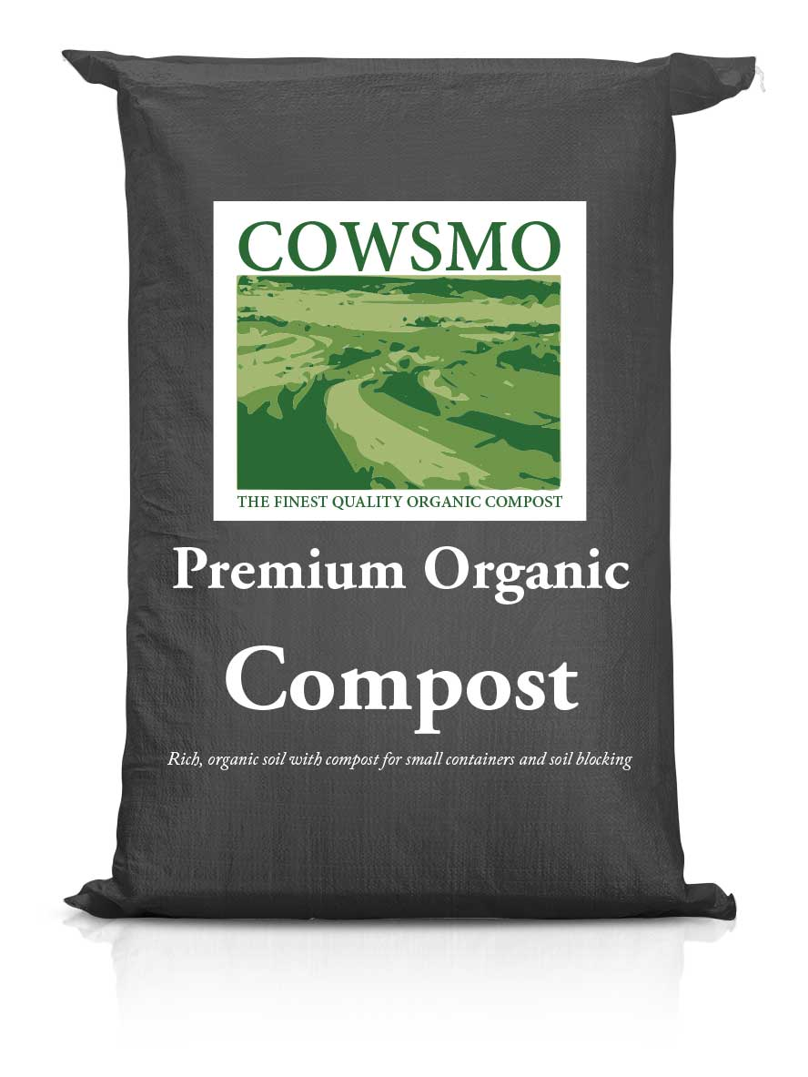 Premium Organic Potting Soil - Black Bag