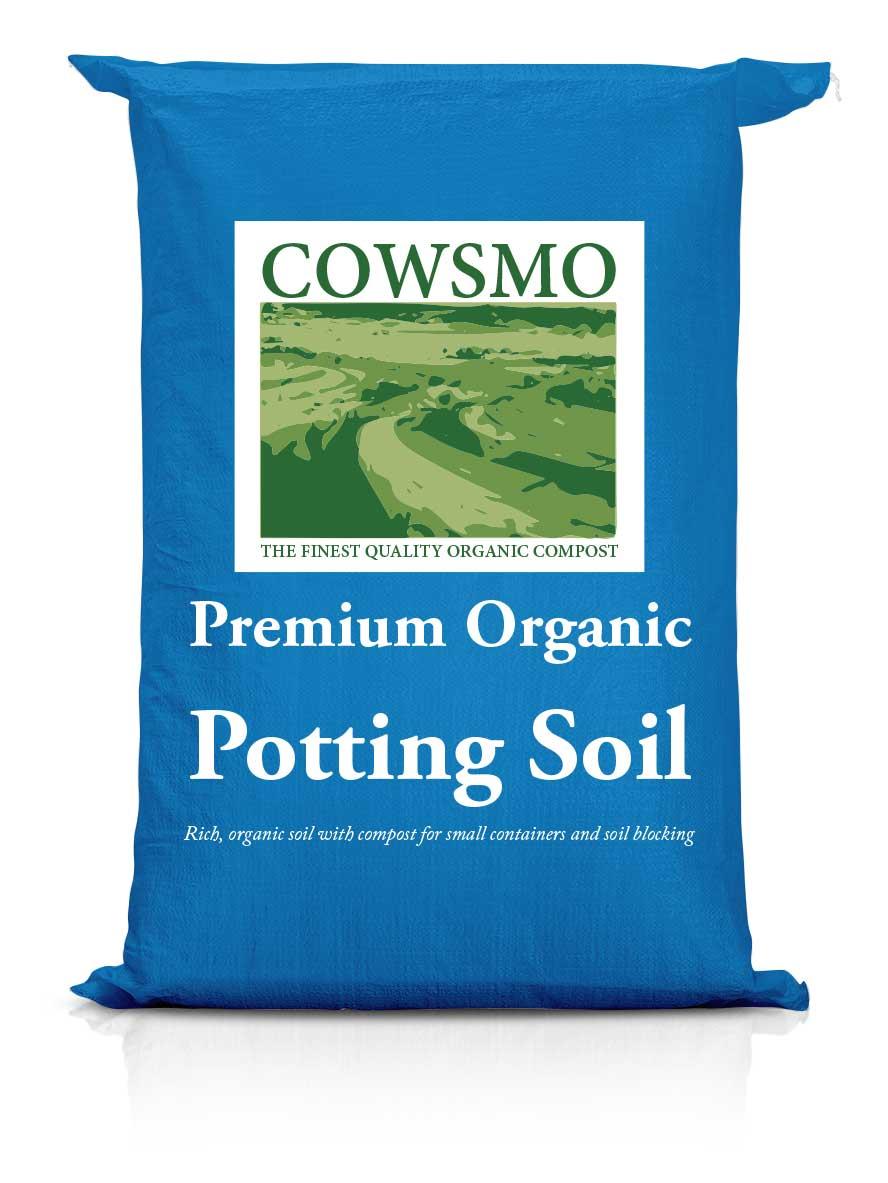 Premium Organic Potting Soil - Blue Bag