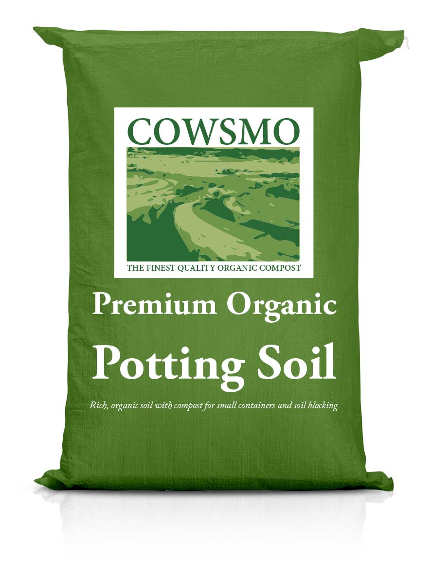 Premium Organic Potting Soil - Green Bag