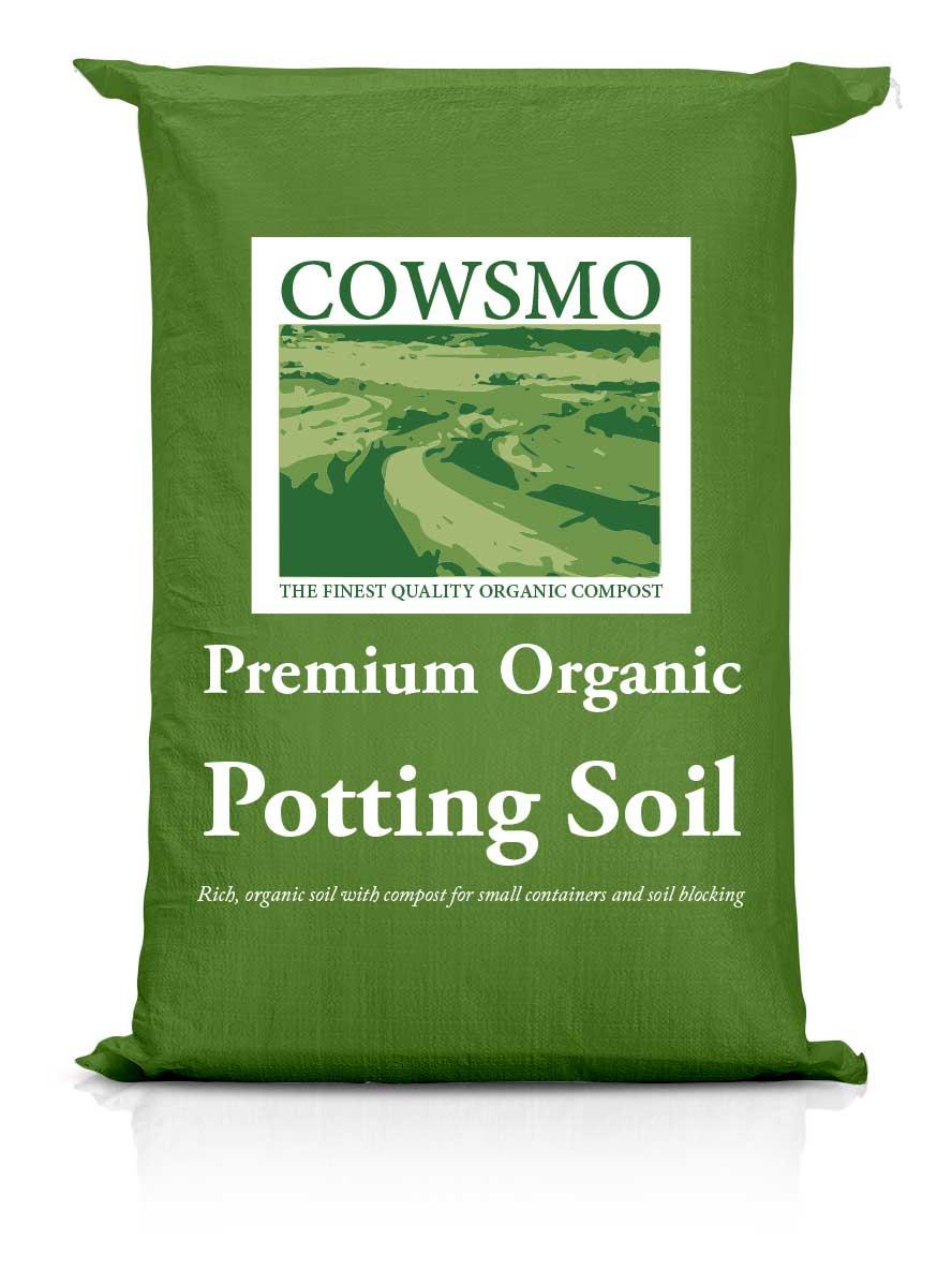 Premium Organic Potting Soil - Green Bag