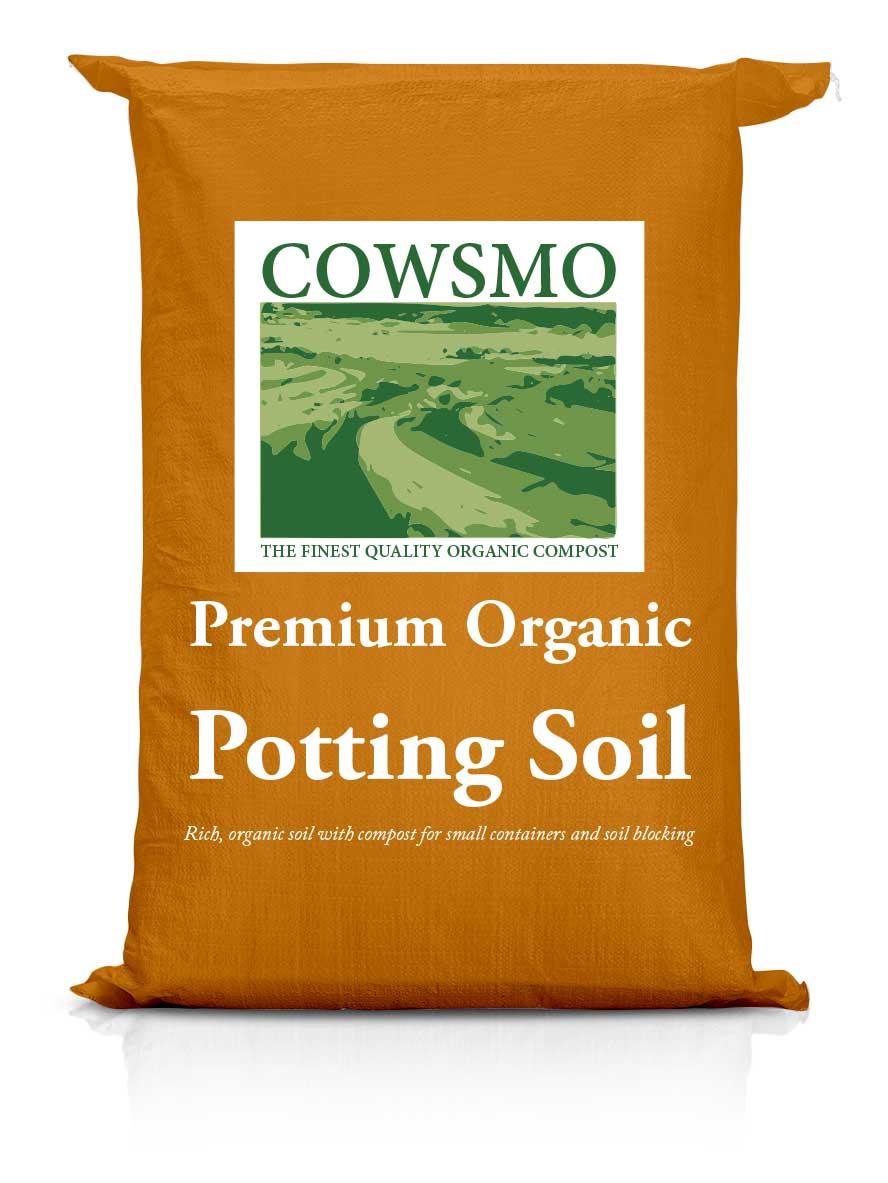 Premium Organic Potting Soil - Orange Bag