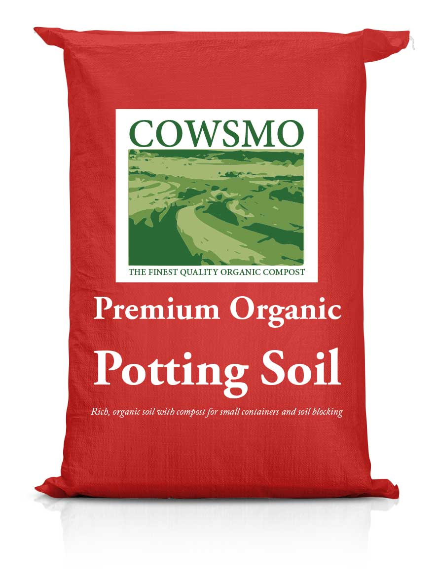 Cowsmo Premium Organic Potting Soil - Red Bag